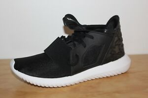 competitive price 816a7 d5c04 Image is loading WOMENS-ADIDAS-TUBULAR-DEFIANT-W-BLACK-S75257-SIZE-