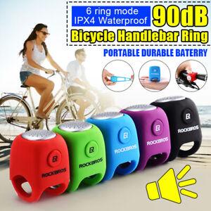 ROCKBROS-90db-Cycling-Bike-Handlebar-Bell-Electric-Ring-Horns-Sound-Alarm-Safety
