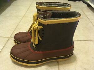 Mens-Boots-Waterproof-Weatherproof-Steel-Shank-Explorers-Sz-11M-Brown