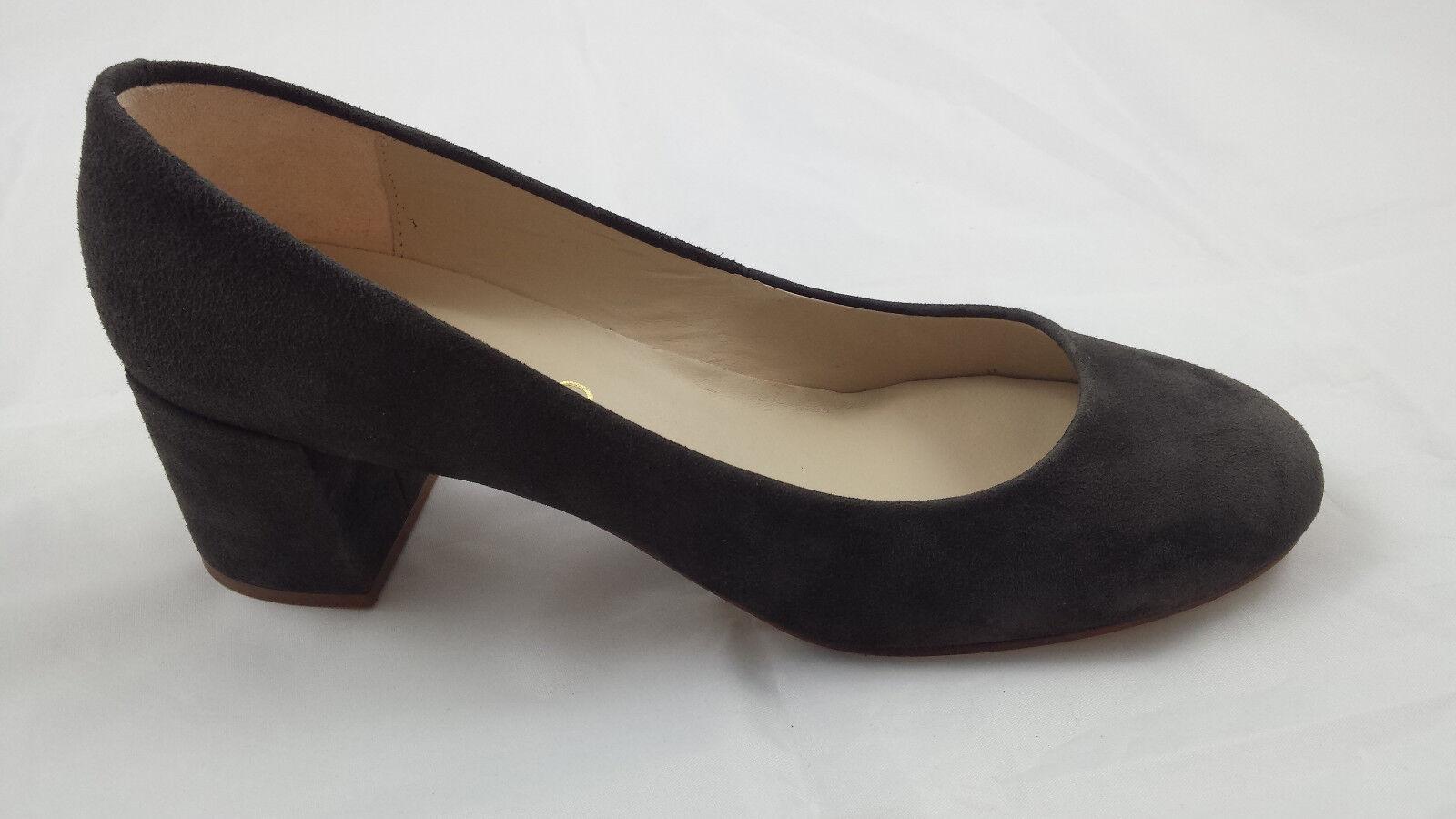 UNISA LACK LEDER PUMPS Gr.38,5 schwarz Absatz ca. 10 cm