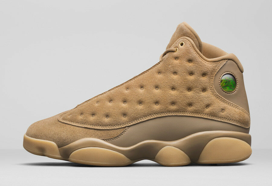 2017 Nike Air Jordan XIII 13 Retro Wheat Tan Gum White Size 12.5. 414571-705.