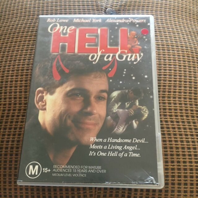 ONE HELL OF A GUY DVD.