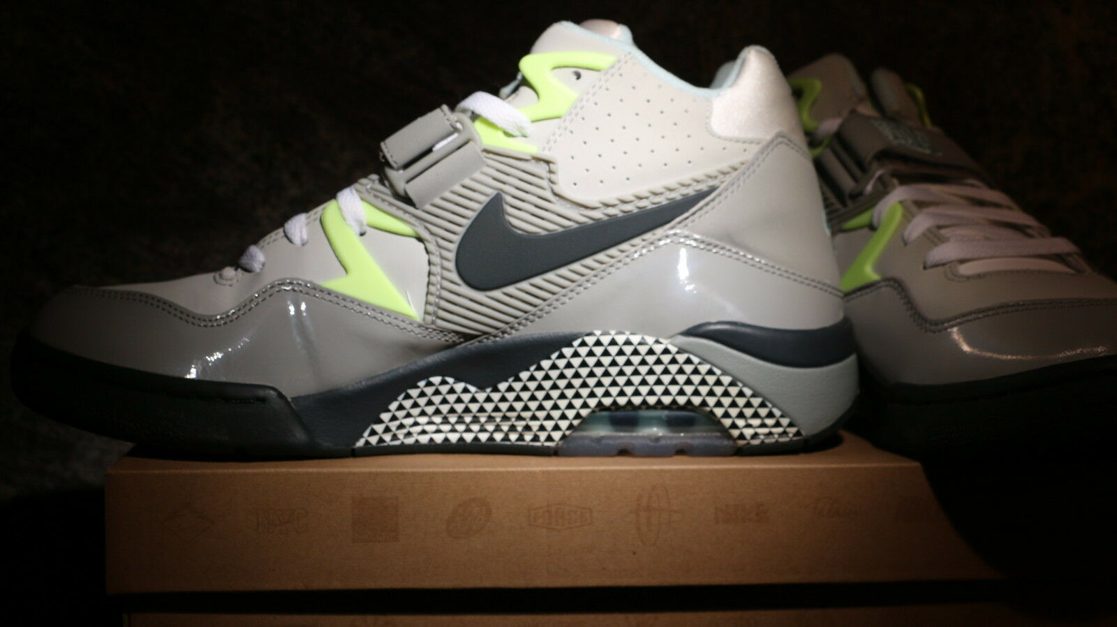 NIKE AIR FORCE 180 HOH DUSK TO DAWN Grey/Anthracite 553547-013 CHOOSE YOUR SIZE