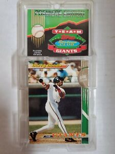 BARRY-BONDS-GIANTS-1993-TEAM-STADIUM-CLUB-CARD-COMPLETE-SET-SEALED-NEW