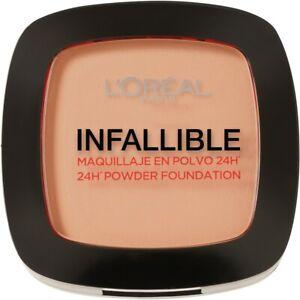 Loreal Paris Infallible 24hr Powder Foundation #160 Sand Beige 9g