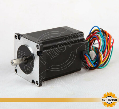 1PC Nema23 Stepper Motor 23HS8840D8P1-C 4A 2.2Nm φ 8mm D-Shaft 80mm 8Wires