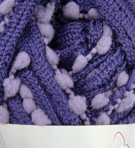 TAPE // SCARF yarn 113 LILACS Grundl PAPILLON BICOLORE 50g ball