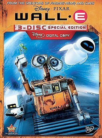 Wall E Dvd 2008 3 Disc Set Special Edition For Sale Online Ebay