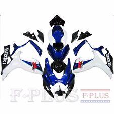 ABS painted Fairing Kit Bodywork for Suzuki GSXR600/750 2006-07 Blue white Black