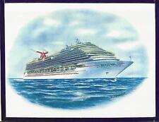 Original Art Work ... ms CARNIVAL MAGIC....CCL ... cruise ship