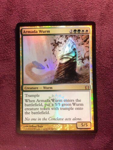 Armada Wurm FOIL  VO NM MTG Magic