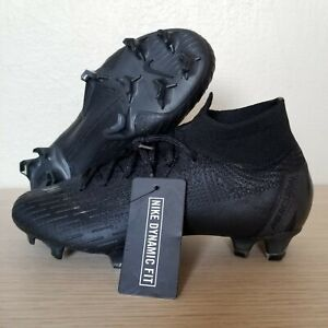 9960b11f022c Nike Mercurial Superfly 6 Elite FG Soccer Cleats Black Size 5.5 ...