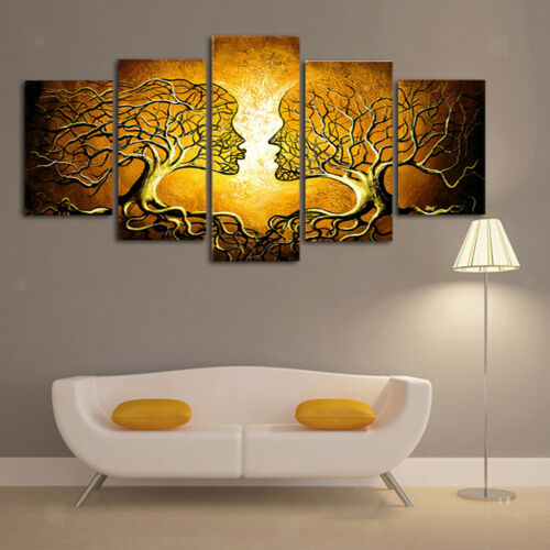 5x Modern Abstract Pictures Canvas Prints Paintings Wall Art Decor C