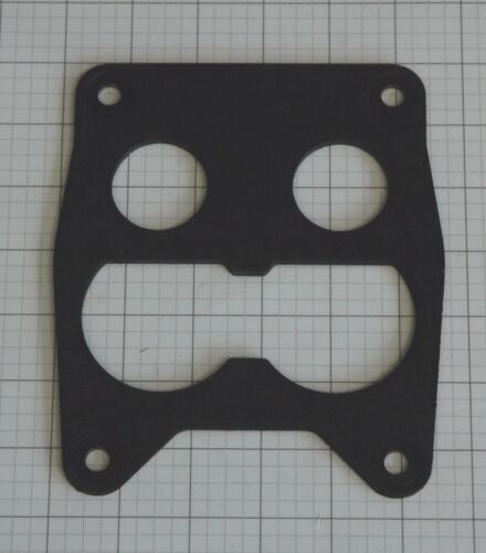 4 BARREL ROCHESTER Q-JET CARB TO INTAKE INSULATOR//GASKET 9//64 THICK 4 REINF HOLE