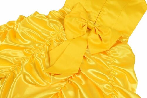 Romy/'s Collection Princess Belle Yellow Party Costume Dress-Up Set