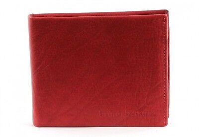 Bruno Banani Africa Fittizio Borsa Trasversale Portafoglio Portamonete Rosso Red-mostra Il Titolo Originale