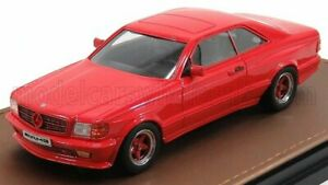 GLM-MODELS 1/43 MERCEDES BENZ | S-CLASS 560SEC 6.0 AMG (C126) COUPE 1984 | RED
