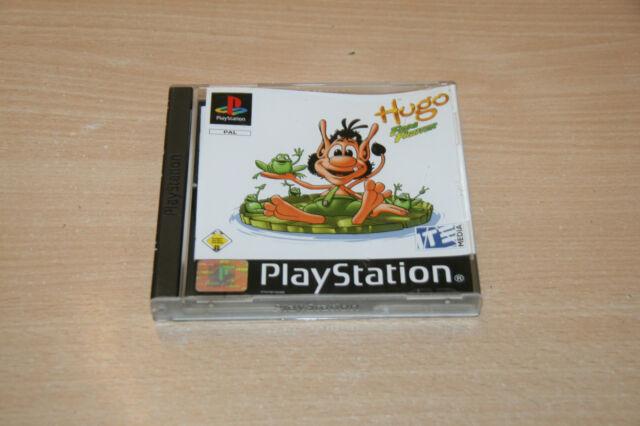 Hugo Frog Fighter (Sony PlayStation 1, 2002) Wie neu top USK 0