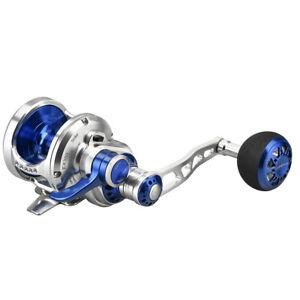 Gomexus-Jigging-Reel-6-3-1-Narrow-Spool-Lever-Drag-50lbs-Right-Hand-Fishing-Reel