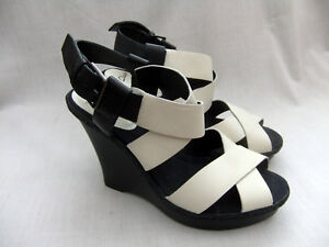 Sweet Silky Size Leather Bone Sandals Softwear New Clarks Womens 41 Wedge 7 wqSTgtg