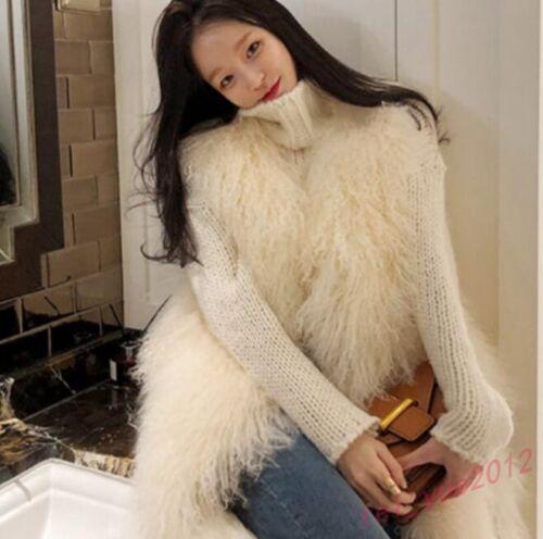 Vest Ny Outdoor Oversize Fur Lamb Jackets Warm Kvinders Winter Coats Chic qzvv8w4