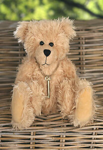 Teddy Bear 'Angus' Settler Bears Handmade Collectable Gift with Key 38cms NEW