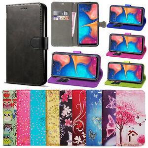 Case-For-Samsung-Galaxy-A50-A40-A20e-A70-A10-Phone-Leather-Flip-Card-Walet-Cover
