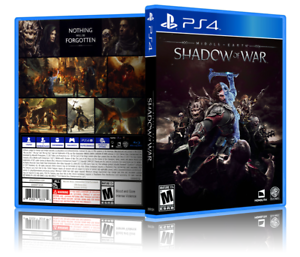 Middle-Earth-Shadow-of-War-Replacement-PS4-Cover-and-Case-NO-GAME