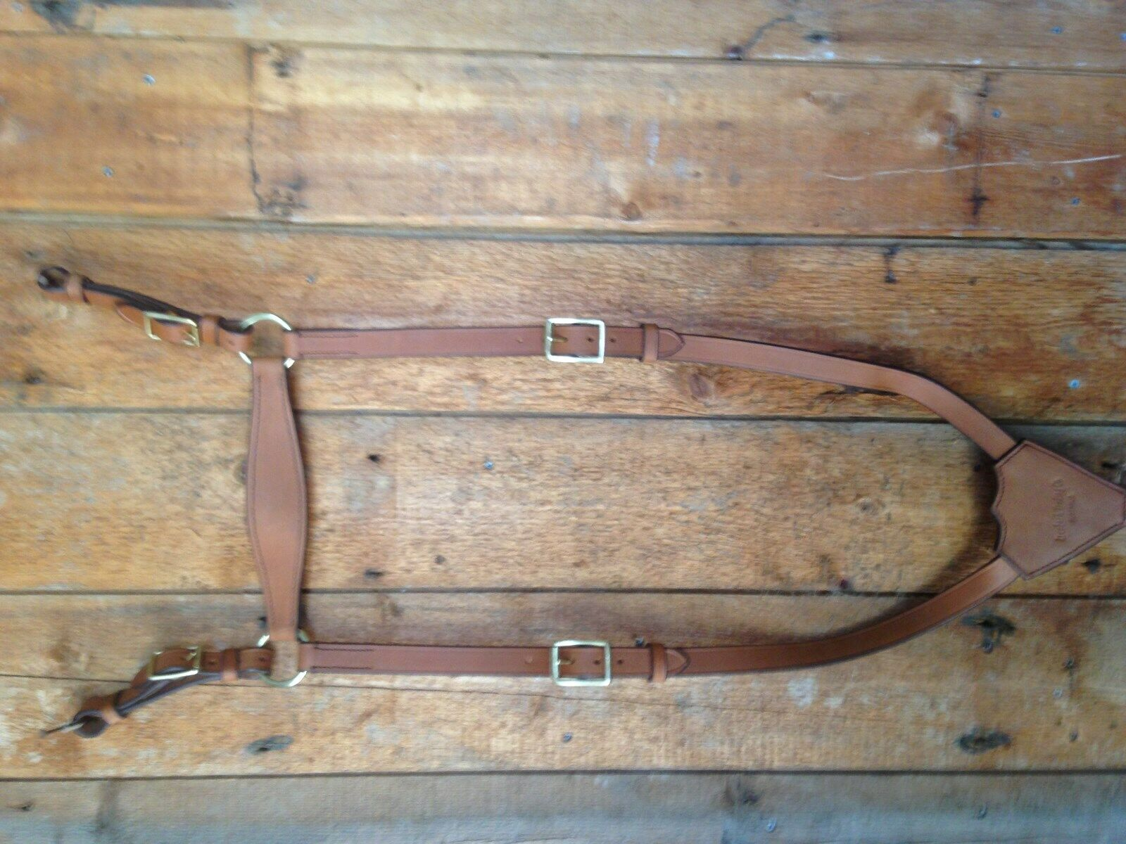 Light  horse WWI Leather Breast plate (reproduction)  store