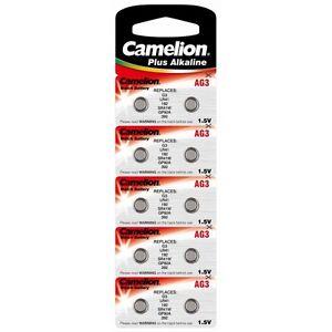 10-Piles-Bouton-Camelion-AG3-AG4-AG6-AG10-AG13
