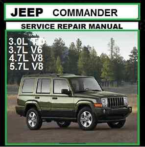 jeep commander xk 2006 2010 mb 3 0ltd 3 7l 4 7l 5 7lworkshop repair rh ebay com au 2007 Jeep Commander Sport 2007 Jeep Commander Limited