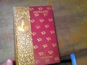 x-16-BOOK-ANTIQUE-HYPERION-LONGFELLOW-1892