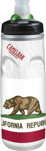 Camelbak Podium Chill BPA-Free Bottle 21oz -  (FLAGS) California [DC'd]