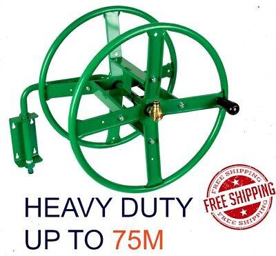 Wall Mounted Hose Reel Heavy Duty Green, Heavy Duty Garden Hose Reel