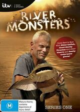 River Monsters : Season 1 (DVD, 2016, 2-Disc Set) New ExRetail Stock Genuine D73