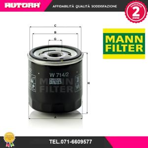 W7142-Filtro-olio-Alfa-Romeo-Fiat-Lancia-MARCA-MANN