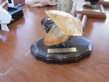 Calcite on Sphalerite Elmwood Mine Smith CO, TN Rocks Minerals specimen