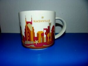 "2014 Starbucks Nashville "" Been There Series "" Mug 14 Oz"