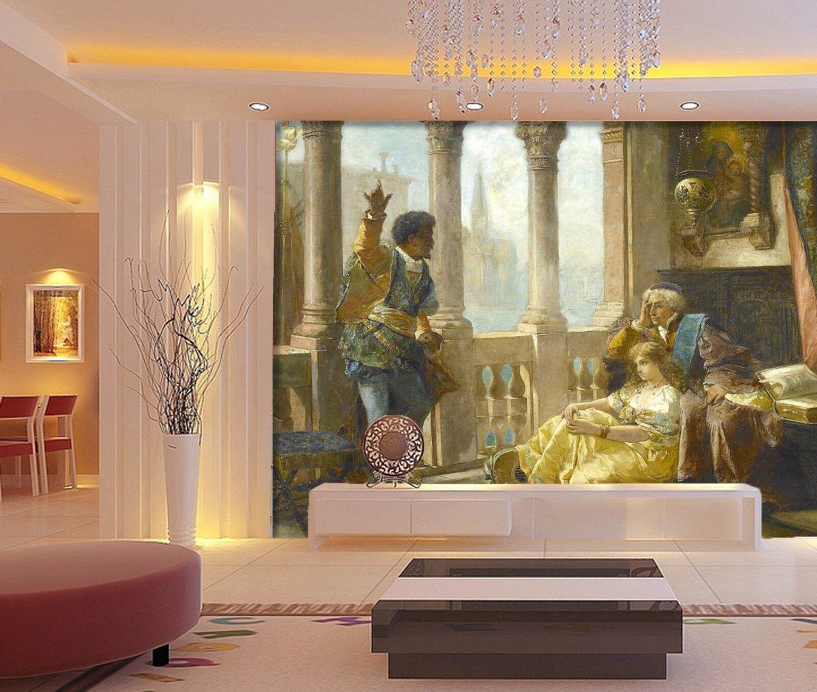3D Speak to listen 254 Wall Paper Wall Print Decal Wall Deco Indoor Wall Murals