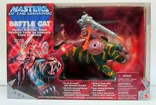 MOTU 200x He-Man's BATTLE CAT action figure MINT in factory sealed box Mattel