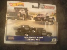 Retro Rig Team Transport 1:64 Hot Wheels FYT09 FLF56 /'66 Chevy Super Nova
