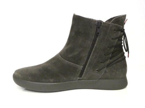 Leder Bequem Grau Think Vulcano Boots Lederfutter Griasdi Stiefeletten Stiefel l3K1cTFJ