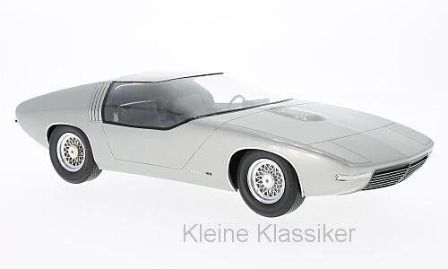 Opel CD concept argento 1969 1 18 bos