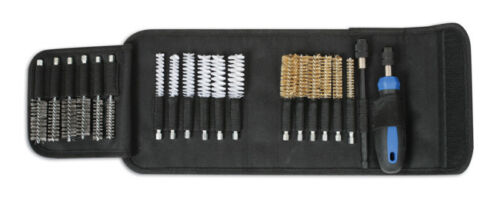 SUPER SAVER Wire Brush Carbon Cleaning Brush Set Quick Chuck Drills + Case