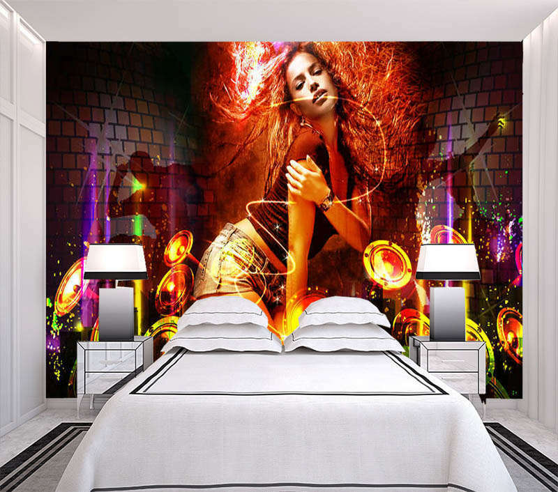 Voluptuous Girl 3D Full Wall Mural Photo Wallpaper Printing Home Kids Decoration