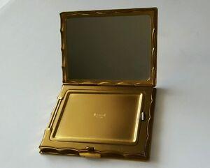 Vintage Elegant Volupte Square Loose Powder Compact Mirror