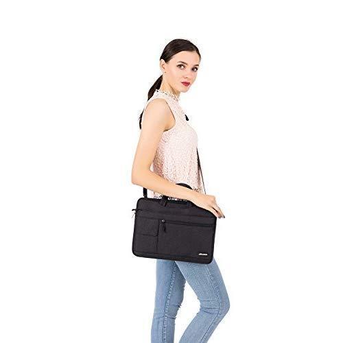 "Microsoft Surface Book 2 15/"" Sleeve Case Durable Crossbody Zipper Handbag Black"