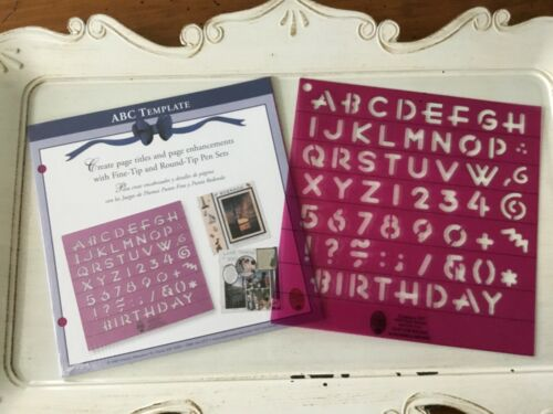 Patterns and Pens /& Corners and Borders Creative Memories Journaling Templates