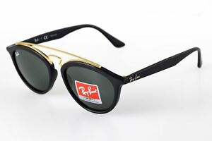 3501c68563 Ray-Ban RB4257 601 71 Gatsby II Black Frame Green Classic 50mm Lens ...