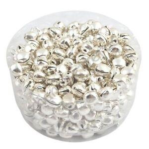 100-Pcs-Iron-Jingle-Bells-silver-X2B4
